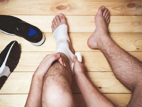 Tratamiento para aminorar el dolor del tendón de aquiles